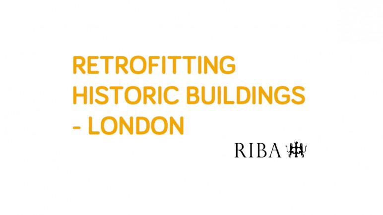RIBA'S RETROFITTING SEMINAR